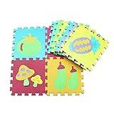 bébé Tapis de jeu puzzle antidérapants Puzzle tapis mousse bébé ,enfants Jeu rampants Tapis de jeu baby child puzzle foam 10 dalles 30x30 cm