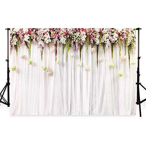 tergrund Fotohintergrund Hochzeit Blume Wand Fotografie Hintergrund weiß Hintergrundstoffen Rot Blume Hintergründen Hintergrund Geburtstag Foto Studio Hintergründe (2.2x1.5m) ()