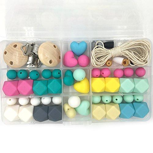 coskiss-teether-giocattoli-luminosi-colori-del-silicone-dentizione-kit-geometrica-esagonale-in-silic