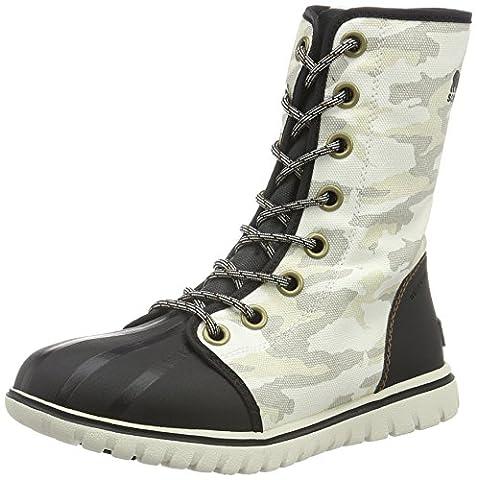 Sorel Women Cozy 1964 Hi-Top Sneakers, White (Sea Salt, Elk 125), 7 UK 40 EU