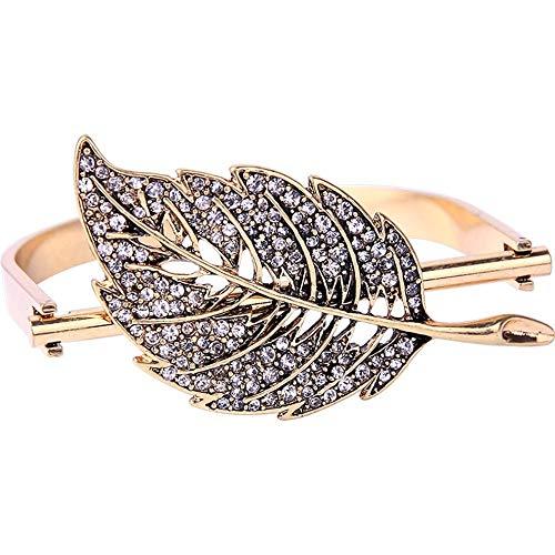 YuLinStyle Kreative Mode Europa und Amerika Retro-Armband weibliche Persönlichkeit offen lässt Diamantschmuck Mode-Accessoires Damenketten