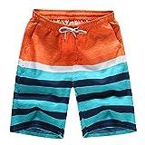 IFOUNDYOU Damen Herren Shorts, Multi-Muster Balg Badehose trocknen schnell Strand surfen Laufen Schwimmen Wasser Hosen lässige Jogginghose