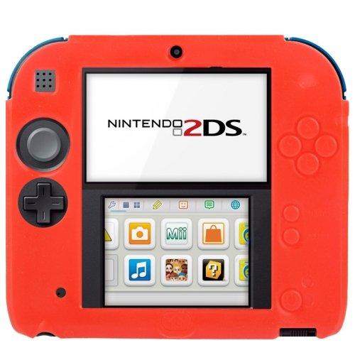 pure-color-ultra-thin-silicone-case-custodia-per-nintendo-2ds-red