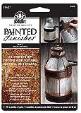 Plaid: Craft Kit de Peinture Folk Art Imitation Rouille, Papier, Multicolore, 2pièces