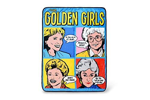 Just Funky The Golden Girls Quotes 45 x 60 Inch Fleece Throw Blanket