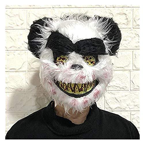 Niedliche Schmetterlings Kostüm - TianranRT Karnevalsmaskeneues Halloween Maske Cosplay Kostüm Scary Panda Für Erwachsene Niedliche Und Kreative Weihnachtsdekoration Requisiten,Weiß
