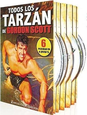 Tarzan Collection (Gordon Scott) - 6-DVD Box Set ( Tarzan's Hidden Jungle / Tarzan and the Lost Safari / Tarzan's Fight for Lif