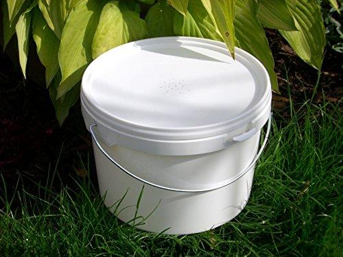 simonthebeekeeper 6 x Beekeepers 1/2 Gallon CONTACT FEEDERS 5