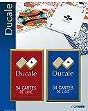 Grimaud jouer DUCALE, 2 jeux de 54 cartes sous blister-404643, 404643