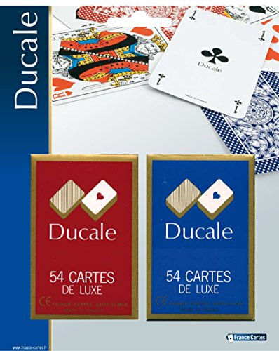 France Cartes - 404643 - Jeu De Cartes - 2 Jeux De 54 Cartes Ducal