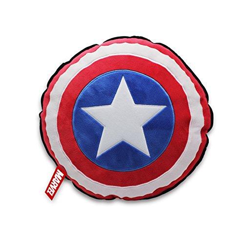 Star Wars T24310 Marvel Kissen Captain America Shield, Schwarz -