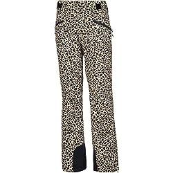 Protest Soribel Pantalón de esquí, Mujer, Estampado Leopardo, 40
