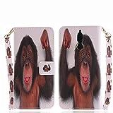 für Huawei Mate10Lite PU Wallet Case Schutz Hülle für - Cover Flip Tasche mit Kartenfach in Buch Stil mit Kartenfach Standfunktion Magnetverschluss und Hand Wrist (16)