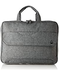 United Colors of Benetton Light Grey Laptop Bag (18P6BAGS5002I)