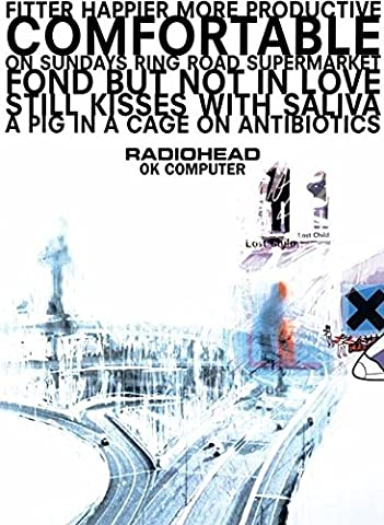 Radiohead - Ok Computer - 100X140 Cm Affiche /