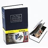 Skywalk Tall Dictionary Book Safe Hidden Vault with Keys, 6 inch (Colours May Vary)