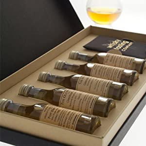 Whisky Lover's Mega Tasting Set Pack of all 4 Sets incl. 5 x 30ml Malt Whiskies of regions of Scotland, Arran, Peaty & Welsh sets plus 4 Glencairn Whisky Tasting Glasses in Presentation Box by High Street Trading Company Limited