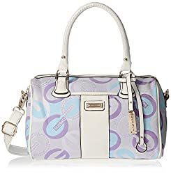 Gussaci Italy Women's  Handbag (Purple) (GC603)