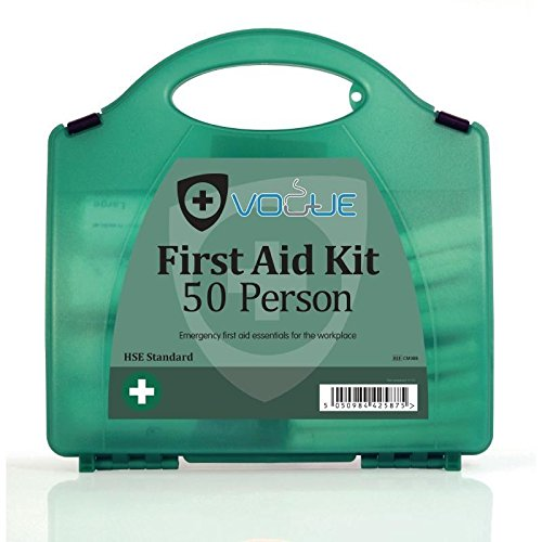 Vogue First Aid Kit 50Person Sicherheit Care Medicine Case Staubdicht Box (Case Care Kit)