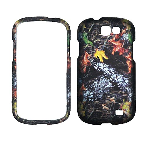 2D Camo Stem Mossy Oak Samsung Galaxy Express i437 ATT Case Cover Hard Phone Case Snap-on Cover Rubberized Touch Faceplates
