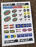 RC Fels Raupen Sticker Aufkleber Tamiya CR-01 Axial