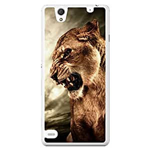 a AND b Designer Printed Mobile Back Cover / Back Case For Sony Xperia C4 (SONY_C4_003)