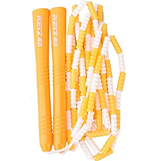 Anser Rope skipping 399 Beaded Double Dutch Jump Ropes (Orange)