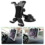 MEKUULA Tablet Car Supporti, Tablet Supporto Auto Regolabile a 360 Gradi con Forte Ventosa da Parabrezza Cruscotto per 7'~ 10.5' Tablet, Apple iPad Air/Mini Portatile, Samsung Galaxy Tab, Kindle Fire