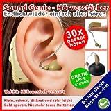 Sound Genie Wiederaufladbarer Hörverstärker 4260352620042
