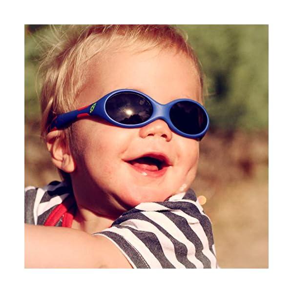 ActiveSol gafas de sol para BEBÉ | NIÑO | 100% protección UV 400 | polarizadas | irrompibles, de goma flexible | 0-24… 2