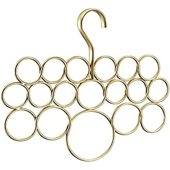 mdesign schalhalter 2er set schalb gel und aufbewahrung f r t cher krawatten g rtel. Black Bedroom Furniture Sets. Home Design Ideas