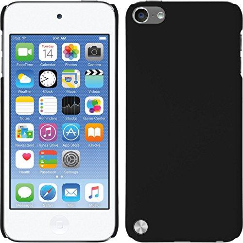 coque-rigide-pour-apple-ipod-touch-5-6-gommee-noir-cover-phonenatic-cubierta-films-de-protection