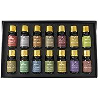 Top 14Premium-Aromatherapie, ätherische Öle-Set, 10ml/Flasche, Lavendel, Eukalyptus, Weihrauch, Pfefferminze... preisvergleich bei billige-tabletten.eu