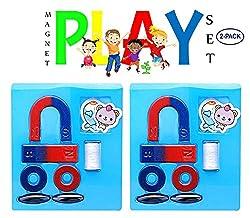 AASA Educational Birthday Return Gift for Kids of Magnet Play Set, Multicolor, 35 Grams, Pack of 1