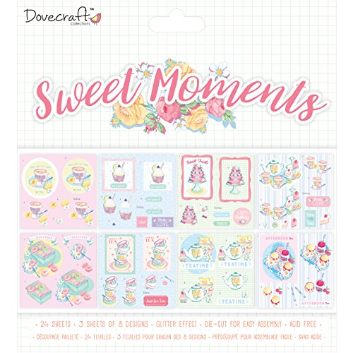 Dovecraft Sweet Moments Collection - Decoupage Pad 8