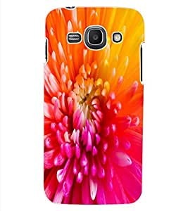 ColourCraft Beautiful Flower Design Back Case Cover for SAMSUNG GALAXY ACE 3 3G S7270
