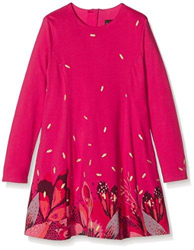 Catimini CI30113, Vestito Bambina, Rosa (Fuchsia), 4 Anni
