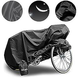 Mture Funda Para Bicicleta Impermeable Anti UV Cubierta Para Bici 190 x 65 x 98cm Color Negro