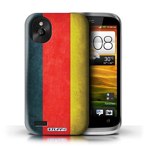 Kobalt® Imprimé Etui / Coque pour HTC Desire X / Russie conception / Série Drapeau Allemagne/allemand