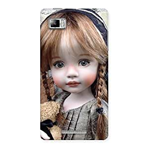 Stylish Girl Angel Multicolor Back Case Cover for Lenovo Vibe Z K910