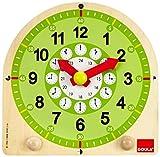 Goula - Jouet en Bois - Eveil - Horloge Éducative