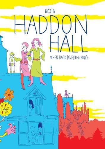 Haddon Hall: When David Invented Bowie (Graphic Novel) (Stardust-figur)
