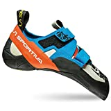 La Sportiva Otaki, Zapatos de Escalada para Hombre, Multicolor (Blue/Flame 000), 43 EU