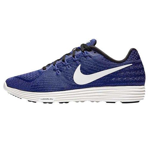 Nike - Nike Lunartempo 2, Scarpe da corsa Uomo Blu (Tief Königsblau/summit Weiß/schwarz)