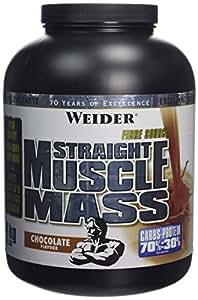 WEIDER Straight Muscle Mass Chocolat 4 kg