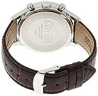 Lotus 15964/1 - Reloj de pulsera hombre, Cuero, color Marrón de Lotus