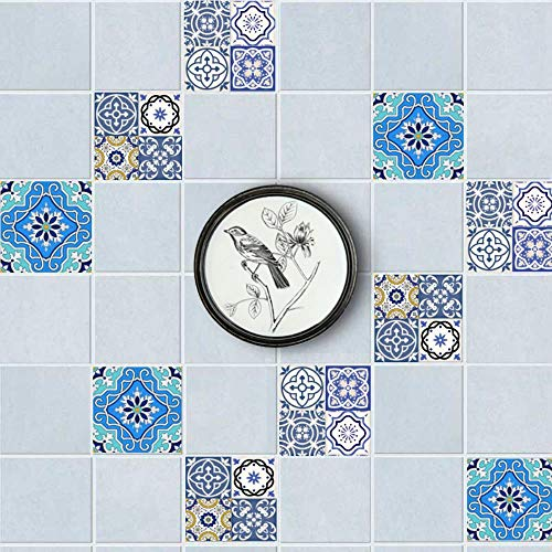 Jane Kontinentaleuropa DIY Aufkleber 3D nachgemachte Fliese Nähen Hauptdekoration frei wasserdichte Wandaufkleber 20 * 100 cm * 2