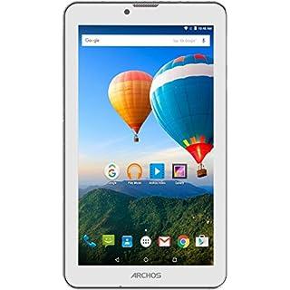 Archos 503179 70 Xenon Color 17,8 cm (7 Zoll) Tablet-PC (MTK, 1GB RAM, 8GB HDD, Android ) schneeweiß/lila Haze/himmelblau