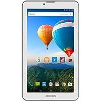Archos 70 Xenon Tablet, HDD da 8GB, Dual SIM, Bianco