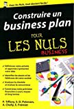 Construire un business plan pour les nuls business by Paul Tiffany (2016-04-21)